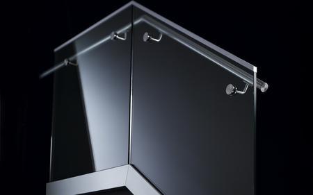 Balustrady ze szkła strukturalnego Easy Glass SLIM Q-RAILING