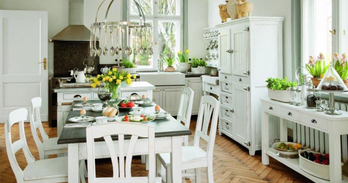 Meble kuchenne retro Aranżacje kuchni otwartych -> Mala Kuchnia Retro