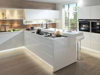 Białe meble kuchenne, nowoczesne aranżacje kuchni