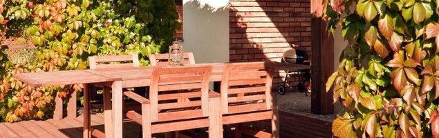 Meble Ogrodowe Drewniane Najtaniej : Meble tarasowe Drewniane meble ogrodowe na tarasie