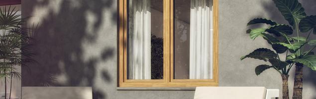 Okno w skandynawskim stylu Typ C Plus firmy POL-SKONE