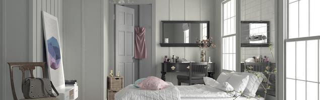 Jesienne dekoracje sypialni