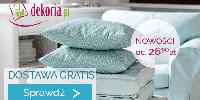 W sklepie Dekoria.pl dostawa gratis