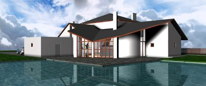 Architektura we wnętrzu. Dom w Nieporęcie